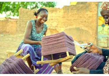 Weavers in Ouagadougou