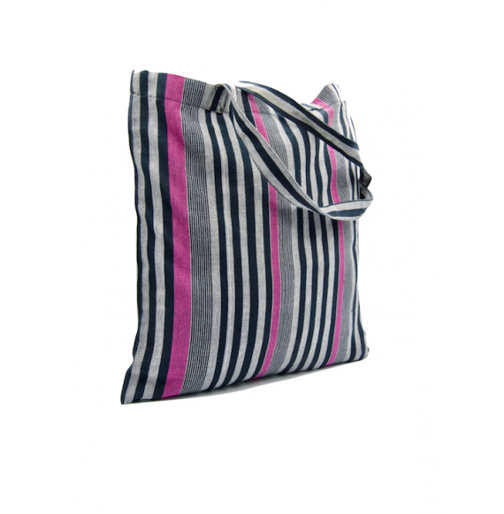 Cabas Faso Dan Fani en coton et teintures bio - Madeleine