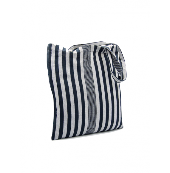 Faso Danfani Tote Bag in organic cotton and dyes - Madeleine