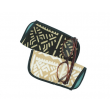 Handwoven Eyeglass case in organic cotton and dyes - Saumon