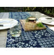Table Runner Floral Indigo (63 in. long)