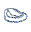 """2-3 Strands Necklace Marbled Beads """"Wilgi"""""""