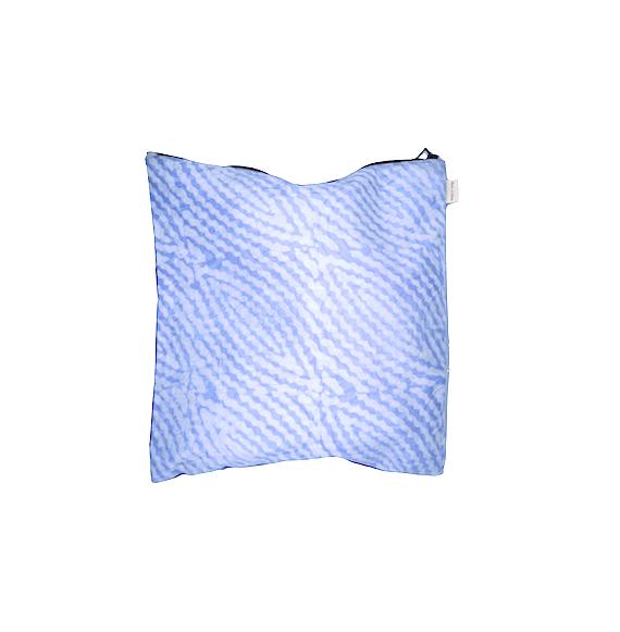 """Organic Waterproof Lingerie Bag """"Lavender Waves"""""""