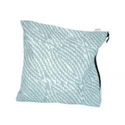 """Waterproof Lingerie Bag   """"Grey Waves"""""""