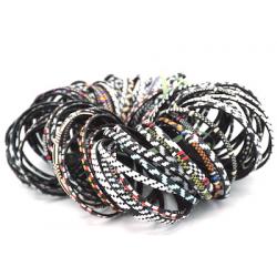 6 Bracelets Smile - Mixte Blanc