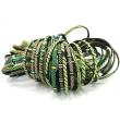 Smile Bracelets - Green Mix