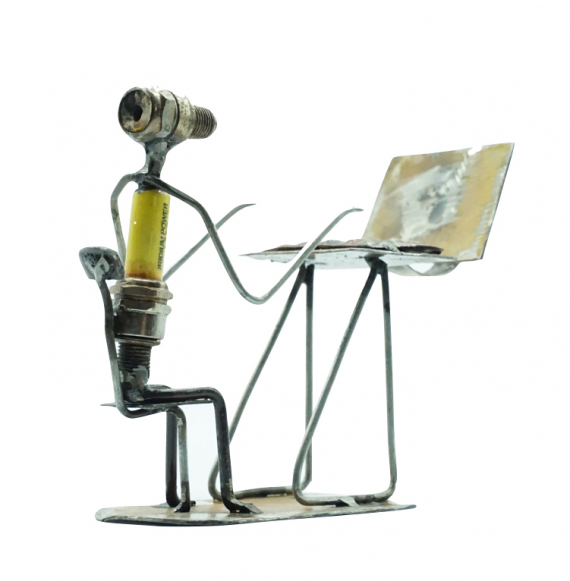 Computer Geek  Statue
