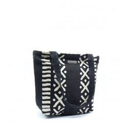 "Bogolan Handbag ""Ato"" (cotton bio & teintures végétales)"