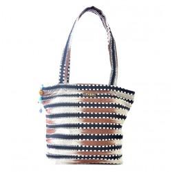 """Faso Danfani Handbag """"Choco Sahel"""""""