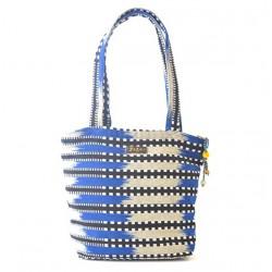 "Faso Danfani Handbag ""Indigo Sahel"""