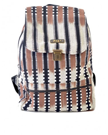 "Backpack Faso Danfani  ""Sahel Chocolate"""