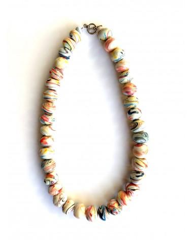 Perles en plastiques recyclés solidaires