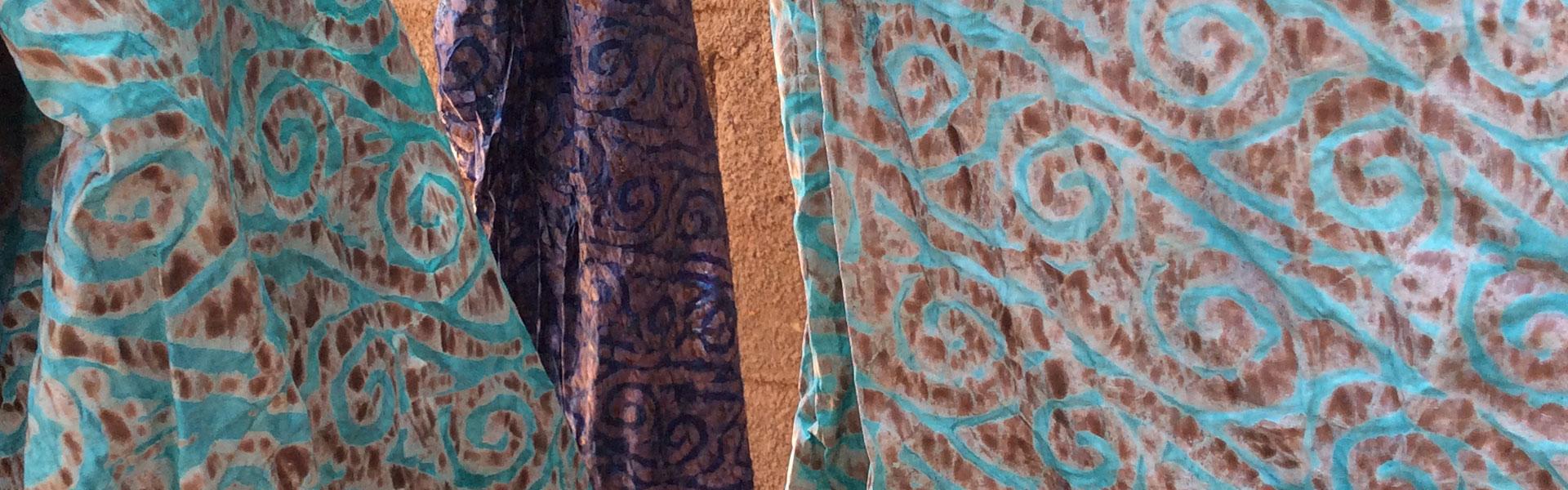 batik bio sur coton bazin par pagabags